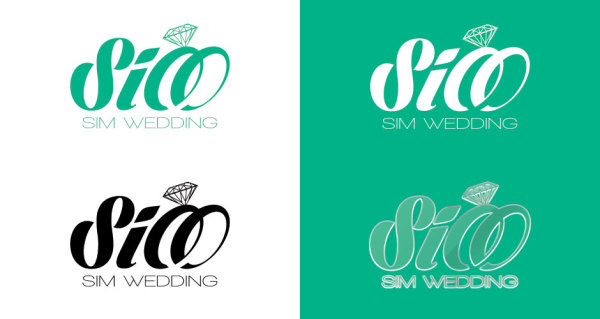 Free Wedding Logo Designs  DesignEvo Logo Maker